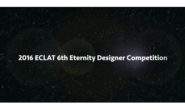 ECLAT 6TH Eternity Designer Competition